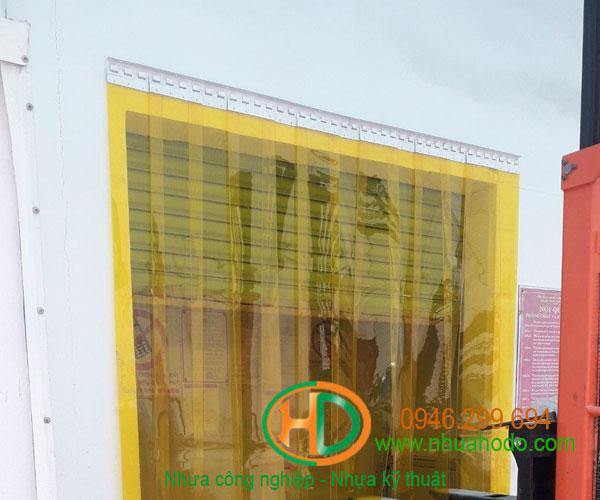 phụ kiện rèm nhựa pvc 1