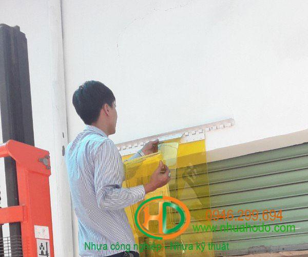 phụ kiện rèm nhựa pvc 5